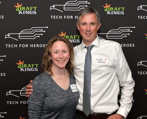 DraftKings Hosts Veterans At Appreciation Event